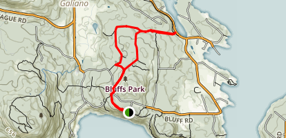 Bluffs Park Trail Map