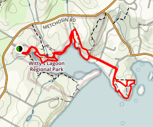 Wittys Lagoon Trail Map
