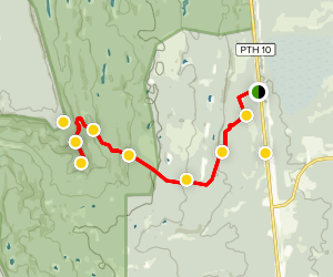 Bell River Canyon Trail  Map