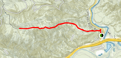 Dotsero Ute Trail Map