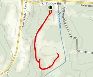 Duck River Hike Map