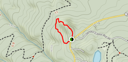Ponderosa Nature Trail Map