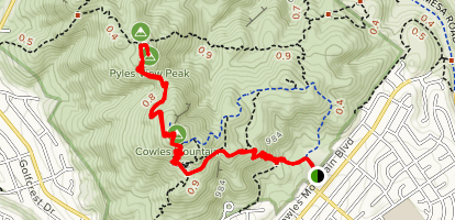 Cowles/Pyles Viewpoint Map