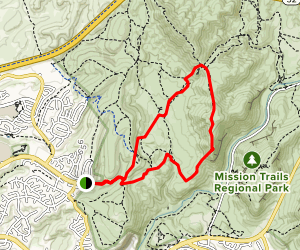 South Fortuna Mountain and Fortuna Saddle Loop Map