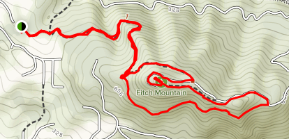 Fitch Mountain Map