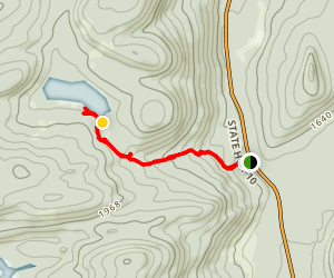 Broomstick Lake Trail  Map