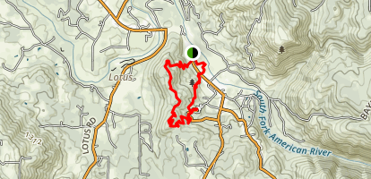 Monroe Ridge Trail Map