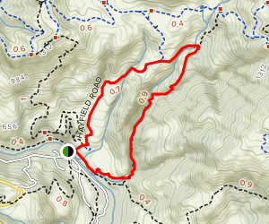 Indian Joe and Hayfield Road Trails Map