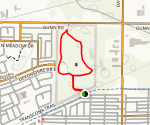 Transcona Bioreserve Loop Map