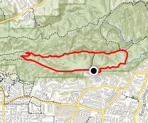South Ridge Trail to Telegraph Canyon Road Loop Map