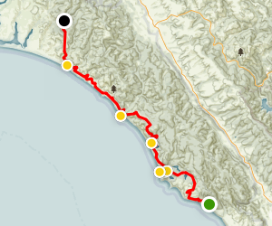 Bolinas to Limantour Map