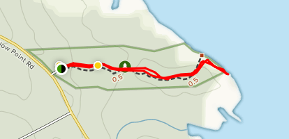 Yellow Point Road Trail Map