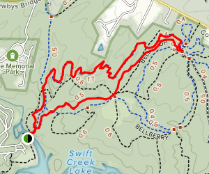Blueberry Hill Loop Map