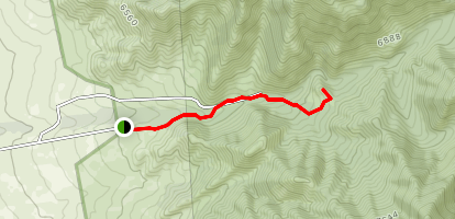 Monte Largo Canyon Map