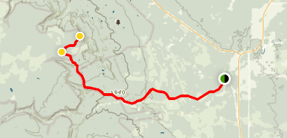 Rice Creek Tower Trail  Map