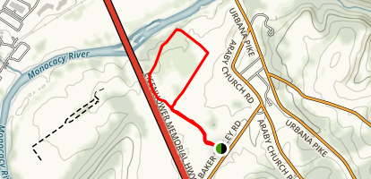 Thomas Farm Loop Trail Map