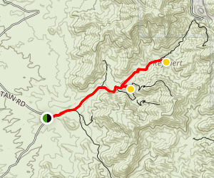 Reymert Mine Trail Map