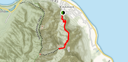 Kahekili Trail Map