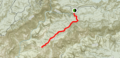 Kohua Ridge Trail Map
