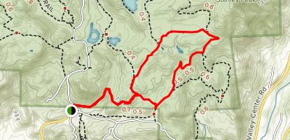 Sage Trail to Coyote Run Trail Loop Map