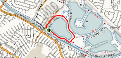 Rainbow Lake Loop Map