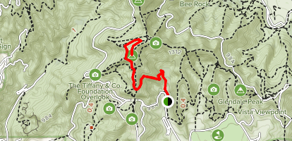 Observatory Trail Map