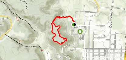 Wormhole Loop Trail Map