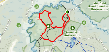 Shattuck Snowshoe Loop Map