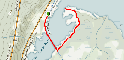 Dominion Point Trail Map
