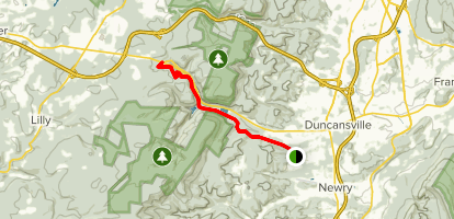 6 to 10 Trail Map