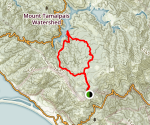 Alpine Lake and Serpentine Point Map