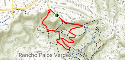 Eagle's Nest Trail Loop Map
