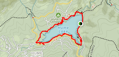 Hume Lake Trail Map