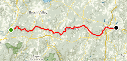 Ghost Town Trail Map