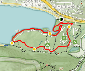 China Cove Trail Loop Map