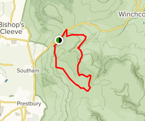 Cleeve Common Loop Map