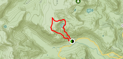 Harrison Stickle and Langdale Pikes Loop Map