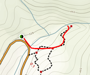 Salmon Creek Trail to Salmon Creek Falls Map