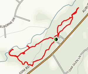 Miners Ravine Nature Reserve Loop Map