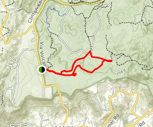 Vernal Pool Trail and Transpreserve Trail Loop Map