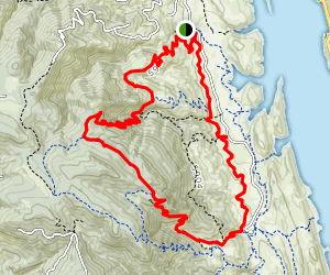 Timber Trail, Arthur's Rock, West Valley Loop Map
