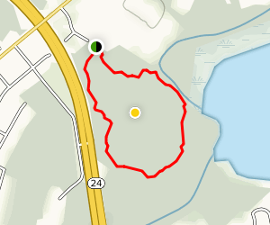 Wuhala Woods Environmental Trail Map