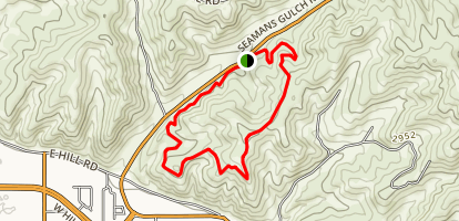 Seamans Gulch Dry Creek Loop Trail Map