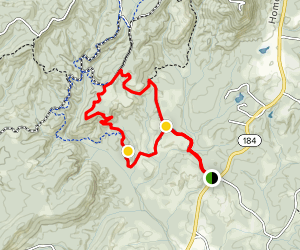 Leather Wood Loop Trail Map