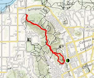 Doty-Trust Park to Crestlawn Memorial Park Map