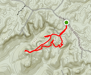 Holley Point Trail Map