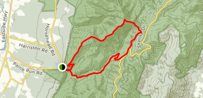 Trayfoot Mountain Trail Map