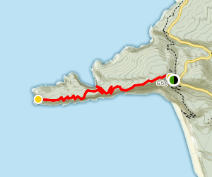 Cape Lookout Trail Map