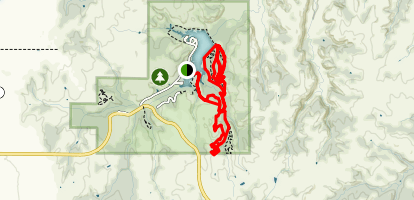 Roman Nose State Park Trail  Map