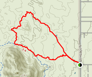 Coyote Canyon Trail Map